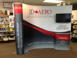 jd aero pop up display