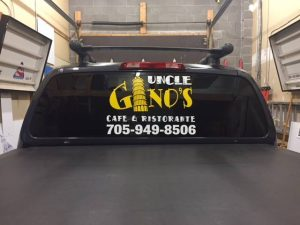 uncle ginos decal